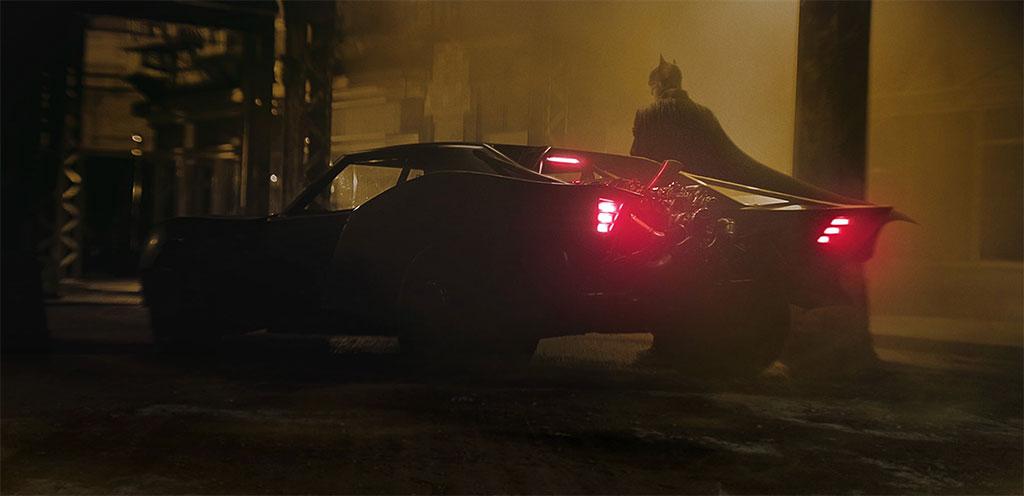 New Batman Batmobile