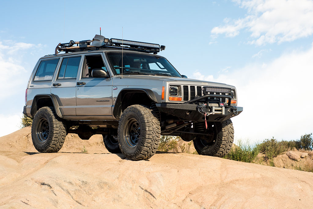 Jeep Cheroke XJ one of the best offroad vehicles