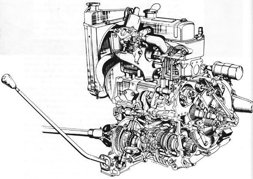 a series engine