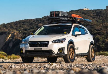 Subaru Crosstrek overland style crossover
