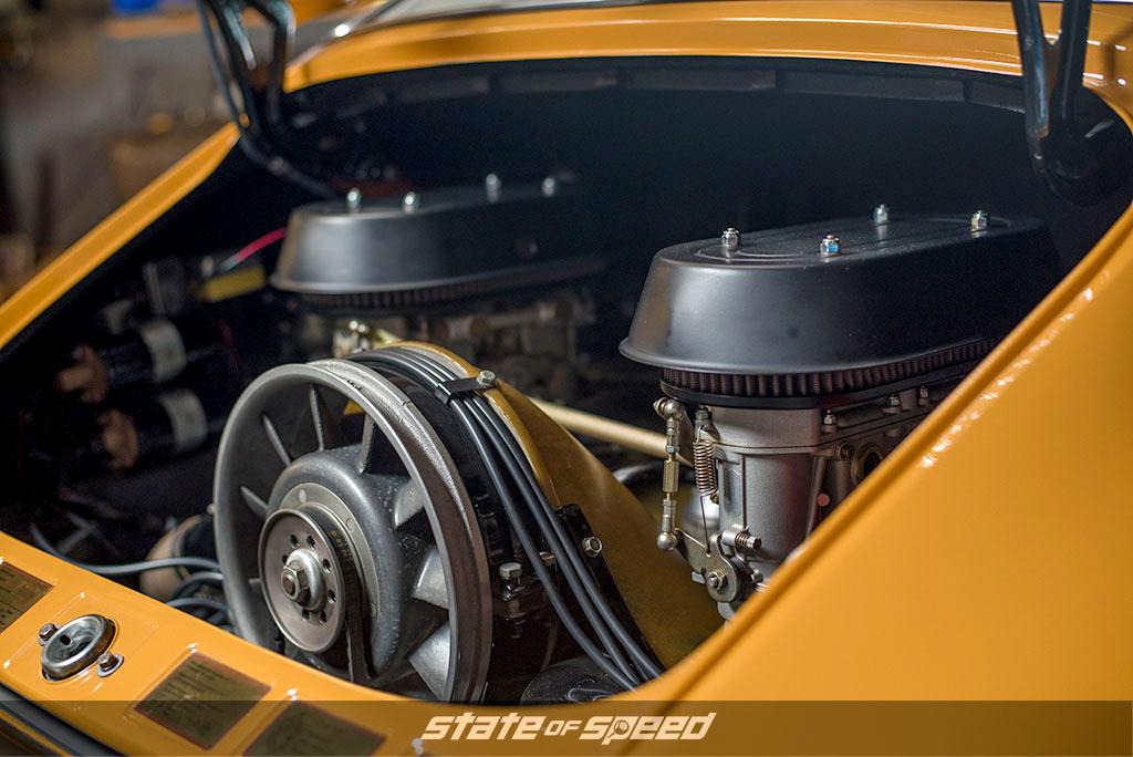 Porsche air cooled engine