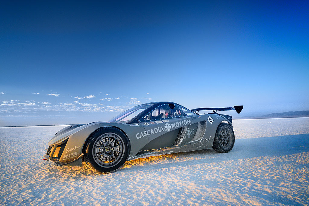 Palatov electric race car
