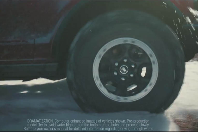 2021 bronco wheel