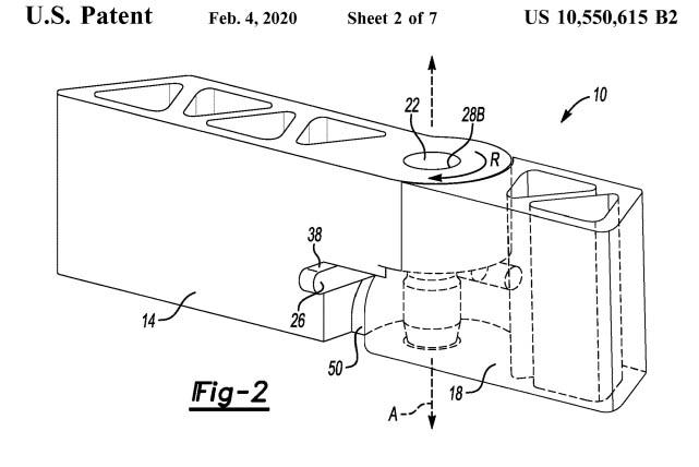 bronco door patent