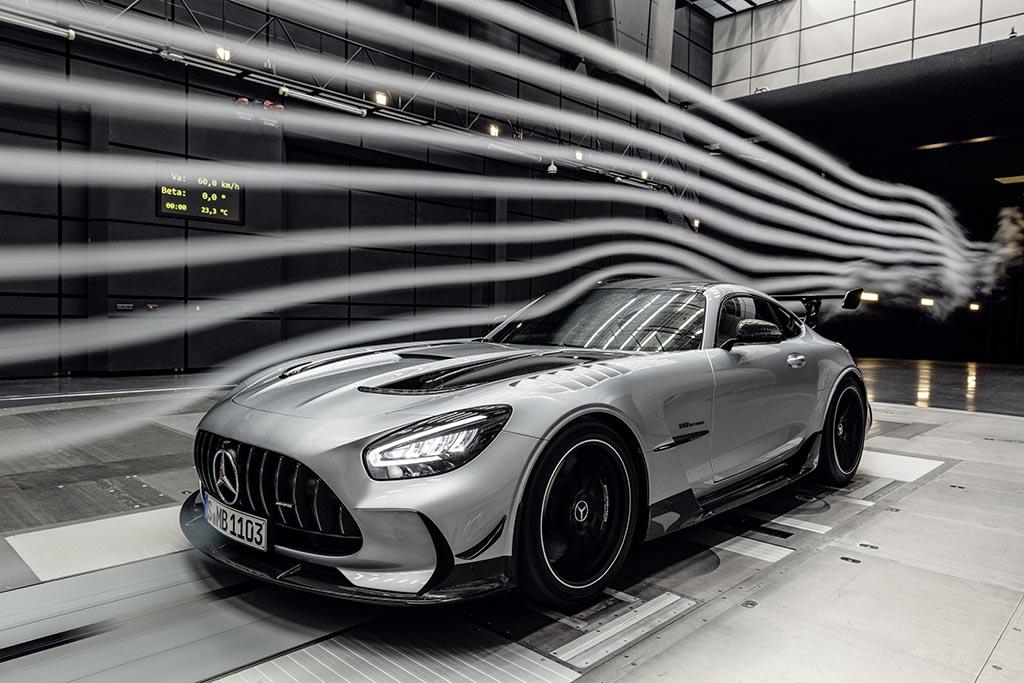 aerodynamics of GT Black Series