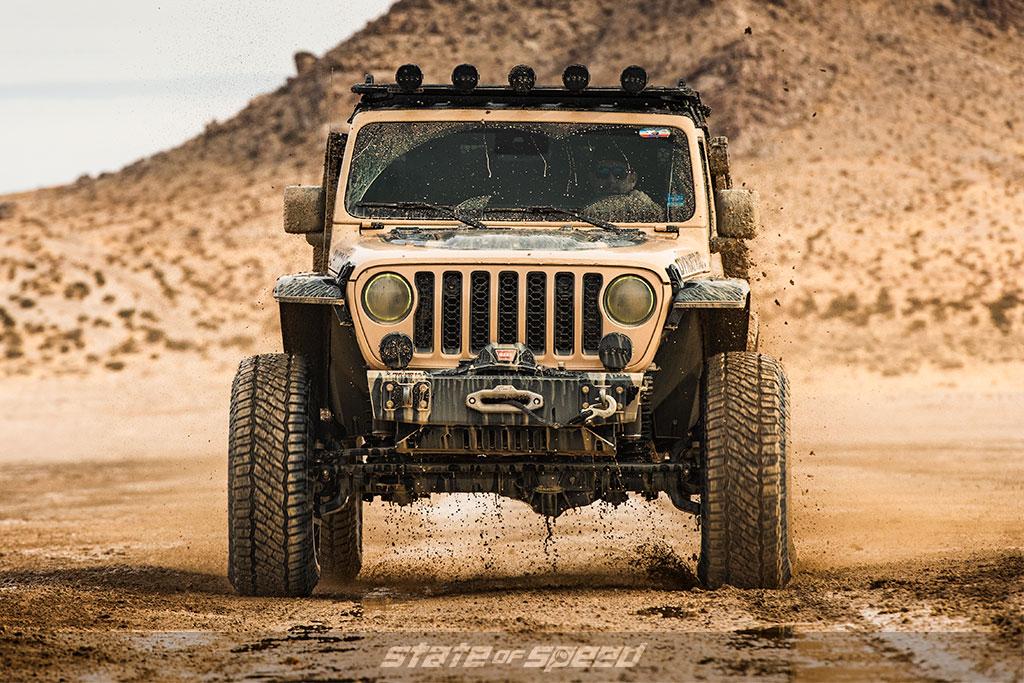 Tan Jeep JT Gladiator Codex