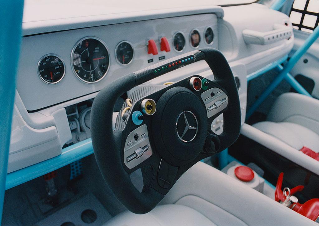 Mercedes G-wagen designed by Virgil Abloh
