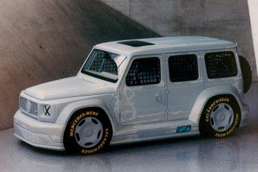 Project Geländewagen Mercedes Benz and Off White Virgil Abloh G-Wagen collaboration