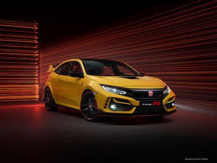 Limited Edition Honda Civic Type R Phoenix Yellow