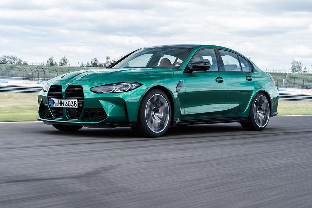 New 2021 BMW M3 Sedan