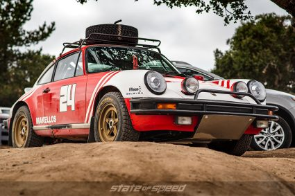 Offroad set up Porsche 911