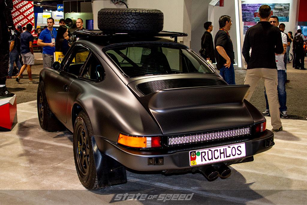Kelly Moss Racing Porsche Safari 911