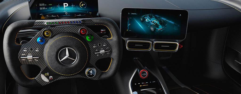Mercedes-AMG ONE interior