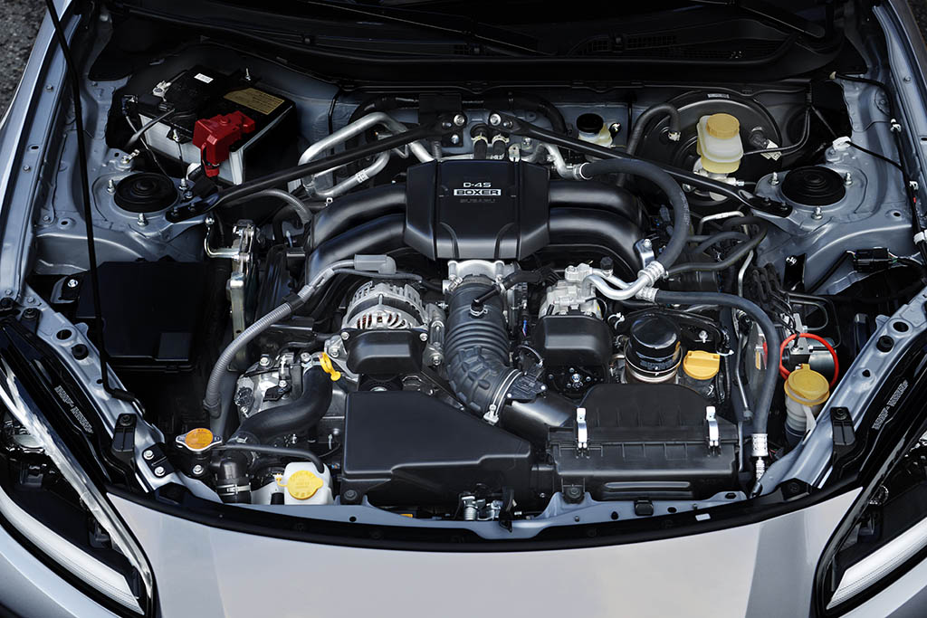 boxer engine in subaru brz 2022