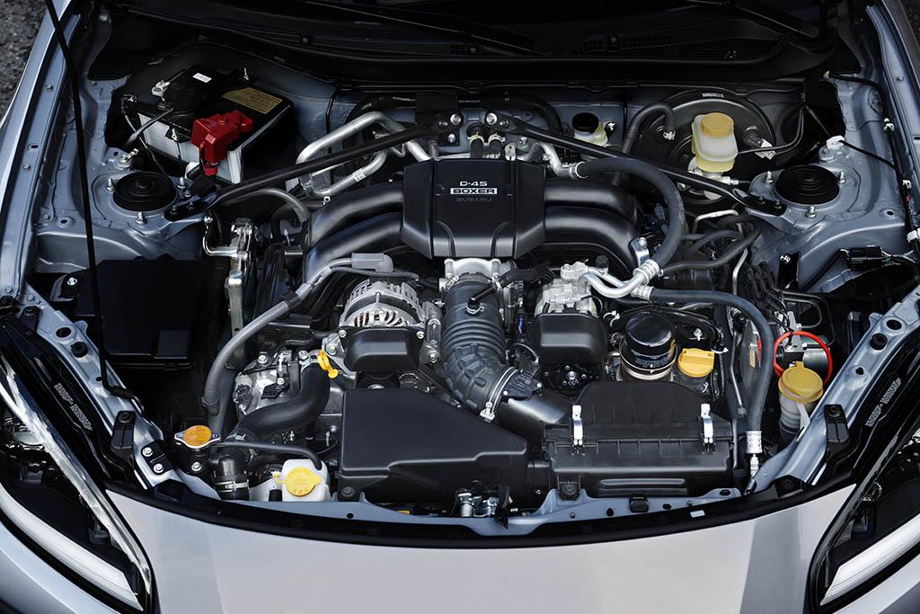 boxer engine in subaru brz 2022