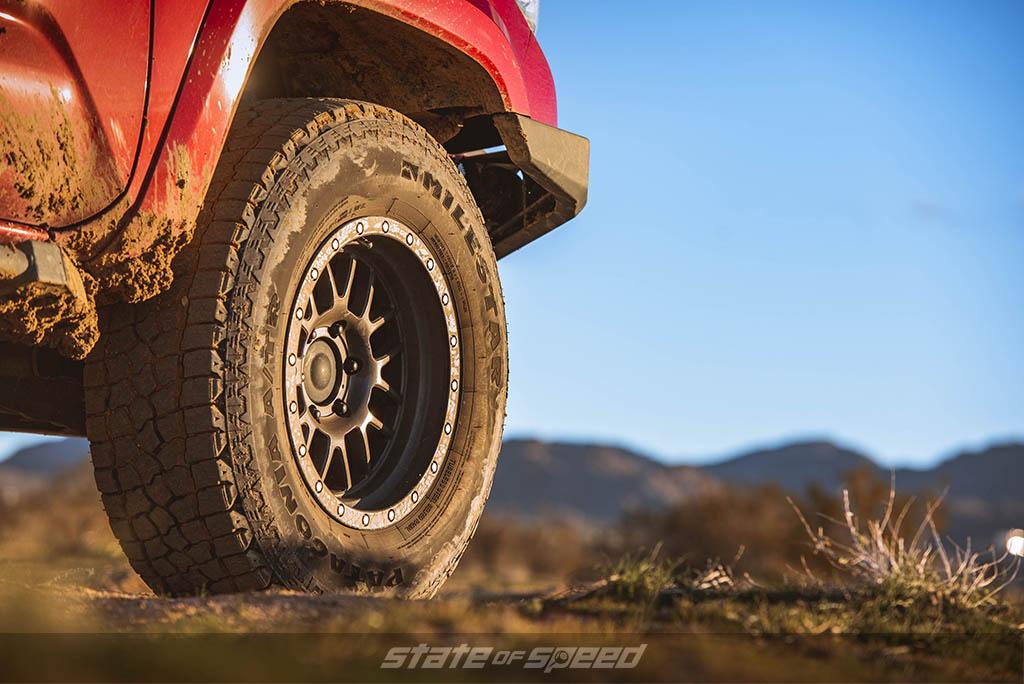 milestar x/t tires on tacoma