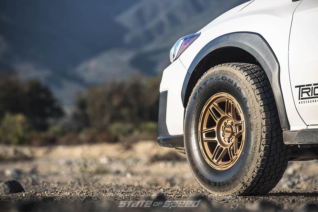 subaru crosstrek on patagonia tires