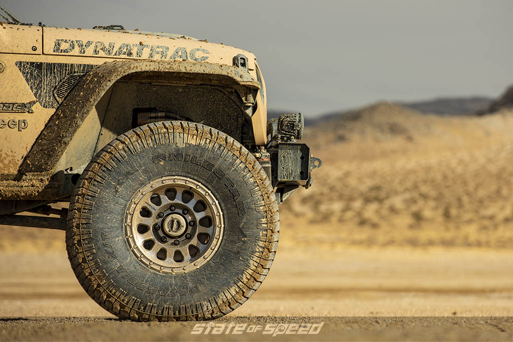 jeep gladiator on x/t tires