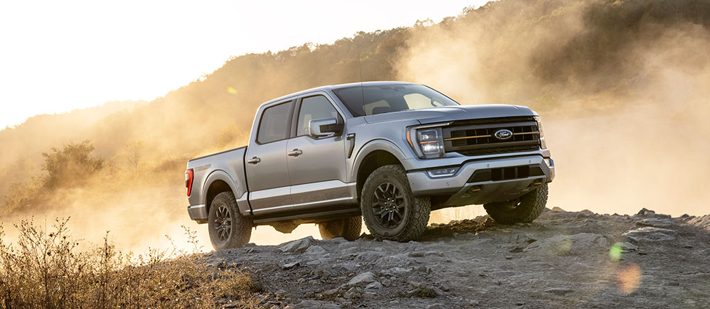 2021 Ford F150 Tremor on the trail