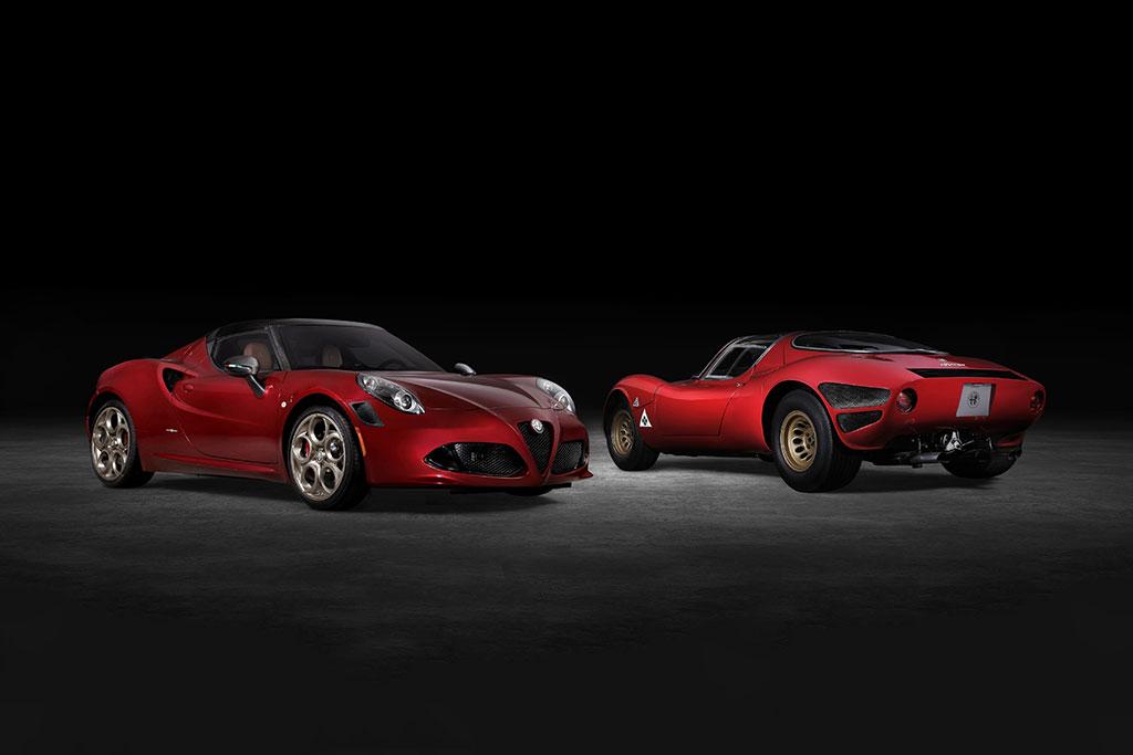 Alfa Romeo 4C Spider Stradale Tributo