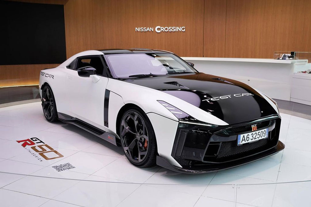 Italdesign Nissan GT-R 50 on display shared by NISMO