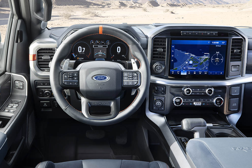 Ford F-150 Raptor Interior