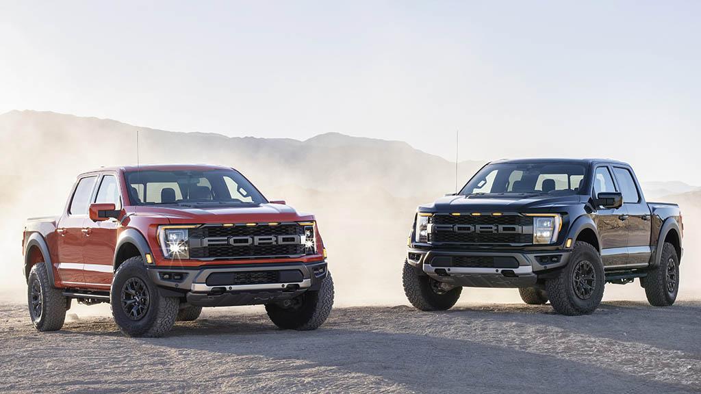 all-new Ford Raptors