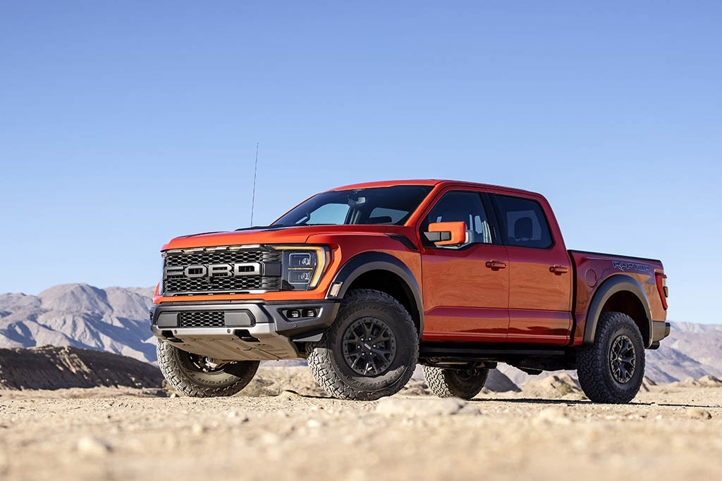 the new Ford Raptor