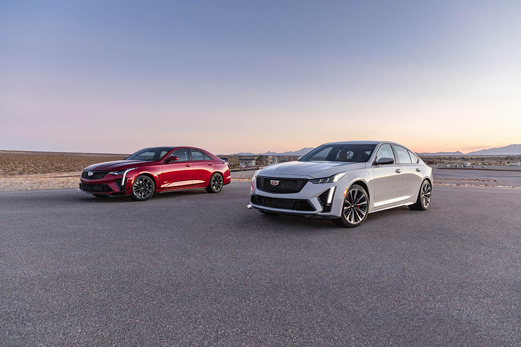 all-new high-performance cadillac blackwings