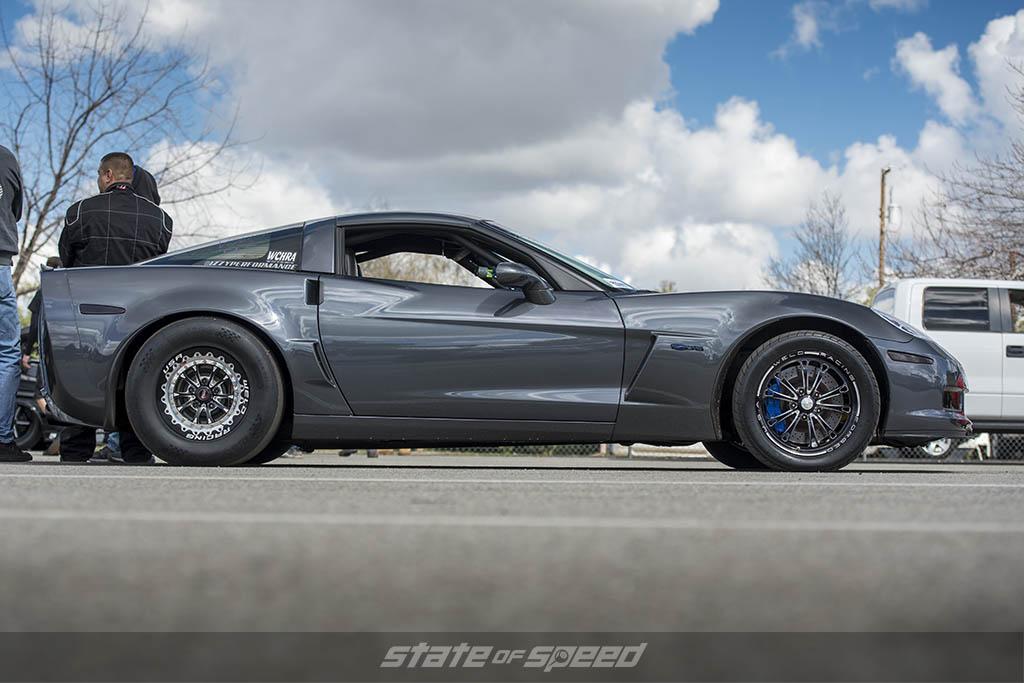 corvette z06 on weld wheels