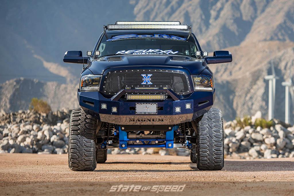 ram 1500 lifted on milestar tires