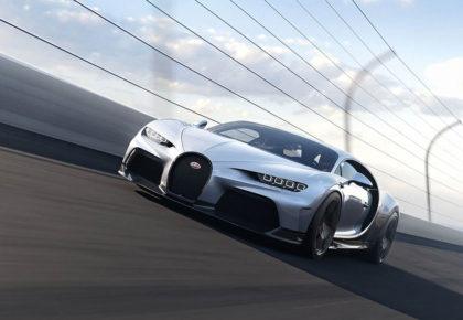 bugatti chiron super sport on track