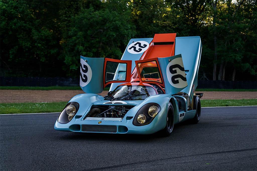 gulf liveried Porsche 917 K sothebys
