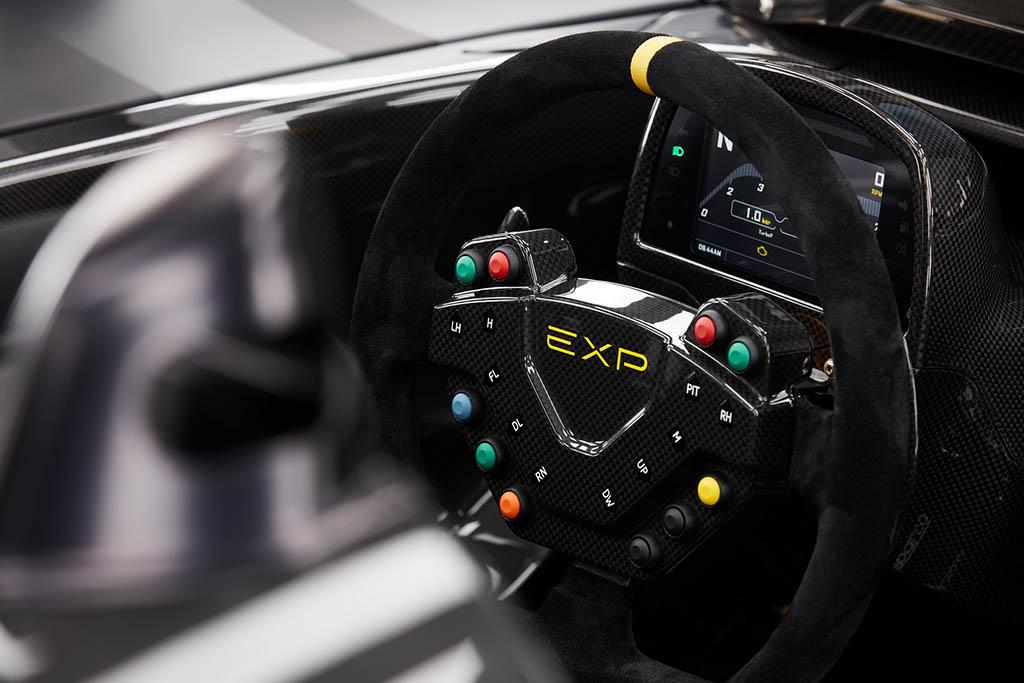 interior of the new tarck only Dallara