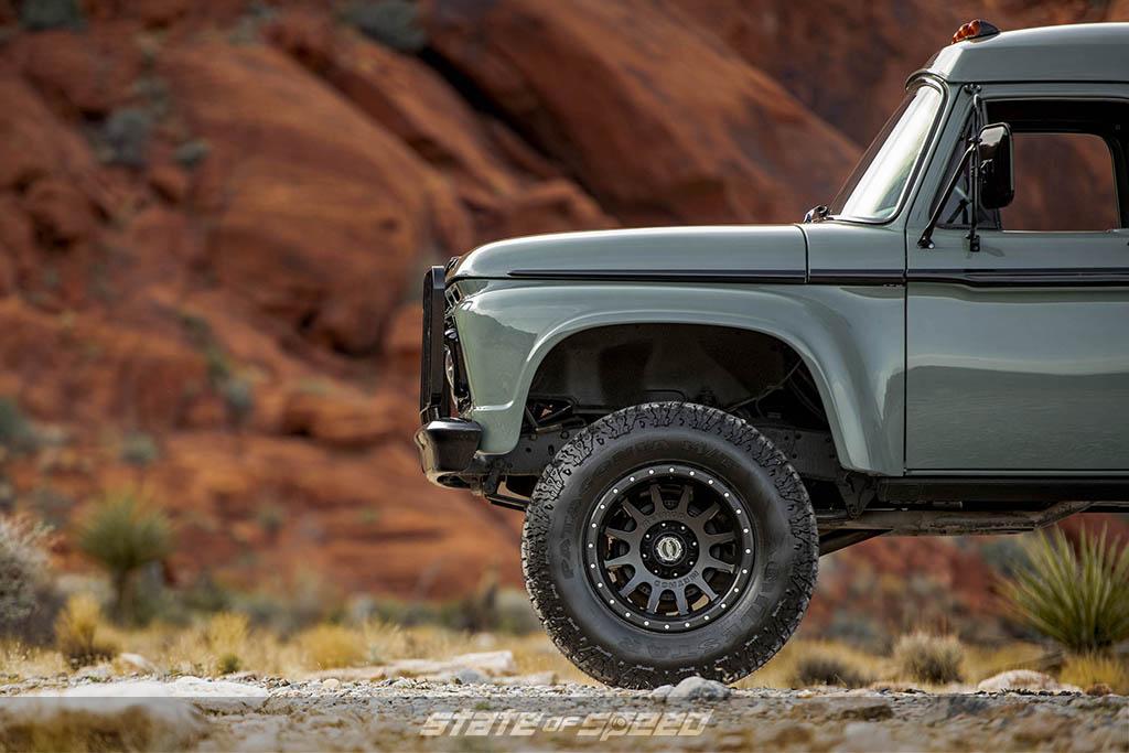 ford on milestar tires