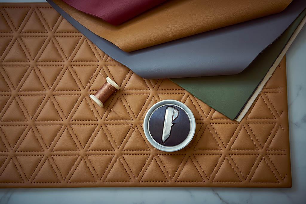 interior leather and alcantara