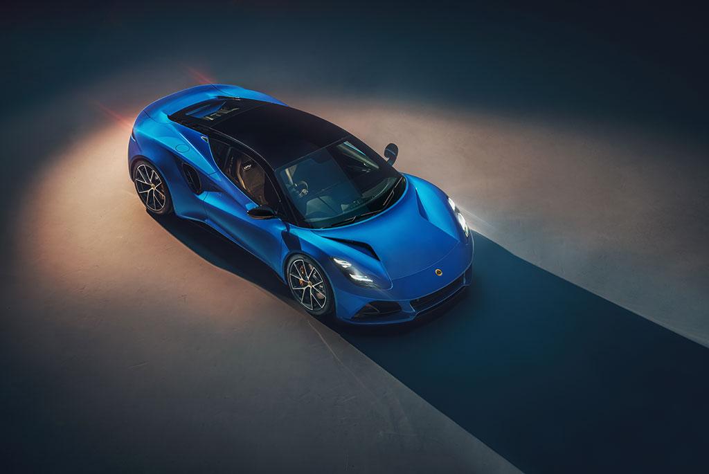 All-New Lotus Emira last gas powered lotus