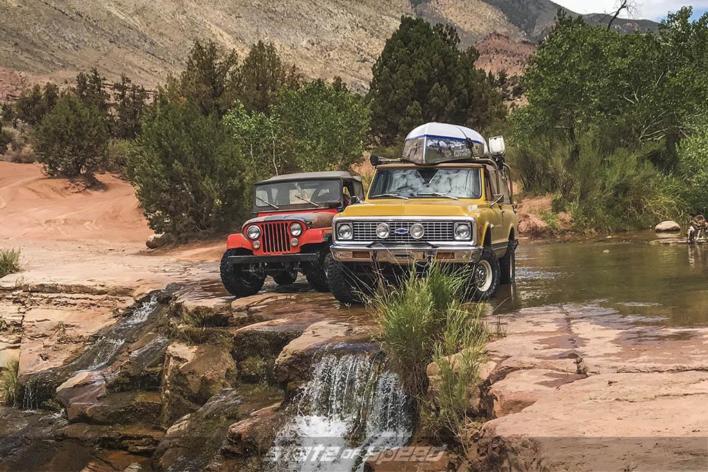 overlanding in classic rigs