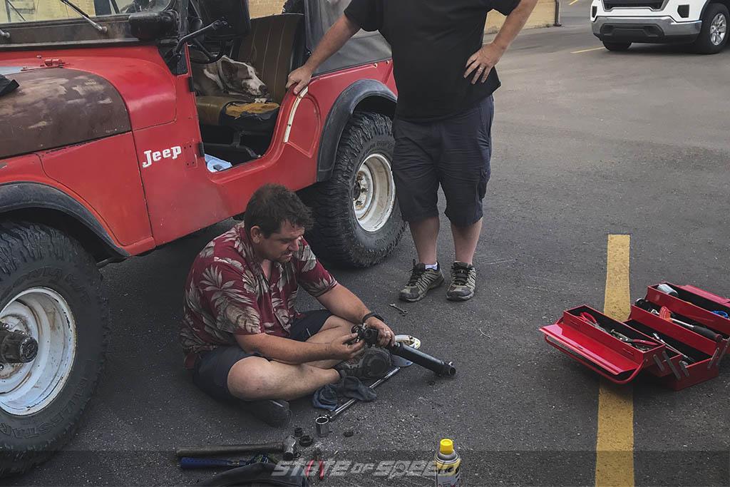 fixing a cj5