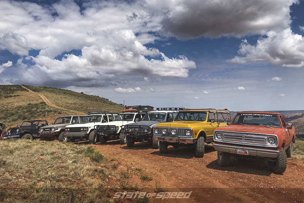 cars participating in relic run 2021