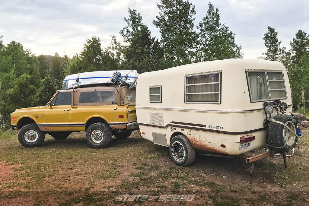 k5 blazer and trillium 4500 camper