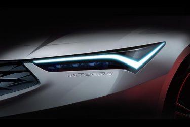 2022 acura integra announced at monterey car week
