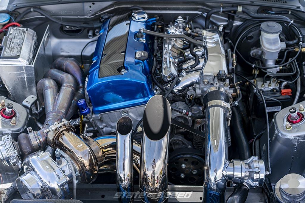Heavily modified Honda S2000 F22C1 Engine